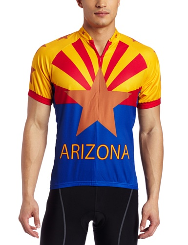 Buy Low Price Canari Cyclewear Men's Arizona Short Sleeve Cycling  Jersey (12105-MULTI)