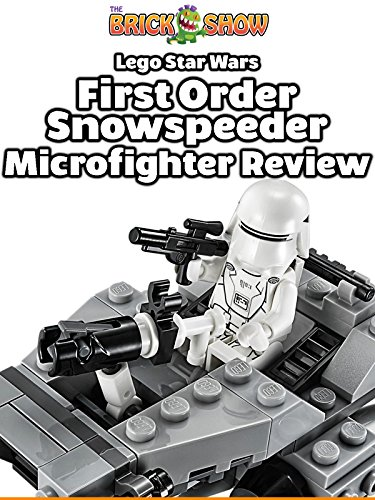 LEGO Star Wars The Force Awakens First Order Snowspeeder Microfighters Review (75126)
