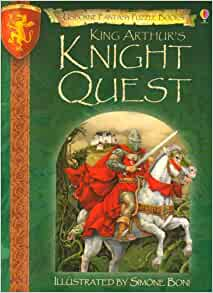 king arthurs quest Camelot, king arthur & the knights of the round table by owen jarus,  according to one story, an inscription was found saying that the quest for the holy grail (a quest discussed at length in .
