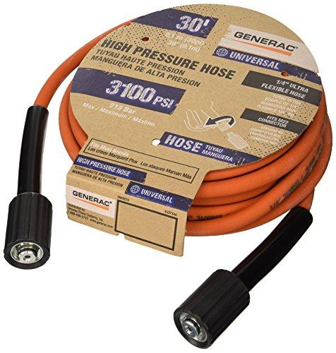generac-6621-pressure-wash-hose-30-feet-x-1-4-inch-orange