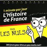 Almanach l'Histoire de France pour les nuls : 1 minute par jour
