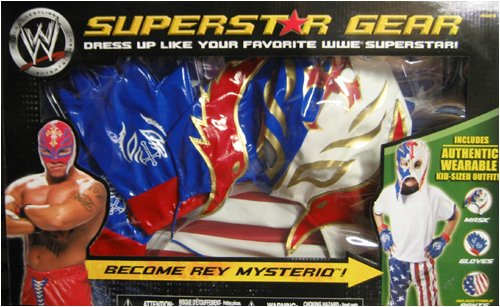 REY MYSTERIO WRSESTLING SUPERSTAR ROLEPLAY GEAR SET - Buy REY MYSTERIO WRSESTLING SUPERSTAR ROLEPLAY GEAR SET - Purchase REY MYSTERIO WRSESTLING SUPERSTAR ROLEPLAY GEAR SET (WWE, Toys & Games,Categories,Action Figures,Playsets)