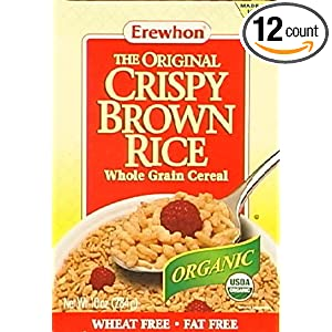 how to make crispy brown rice cereal