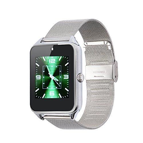 VOSMEP-Smartwatch-Orologio-Cellulare-Supporto-Facebook-Twitter-con-Bluetooth-40-Intelligente-dellOrologio-del-Braccialetto-Sport-Telefono-Wrap-con-Touch-Screen-Fotocamera-per-Apple-iOS-Samsung-Android