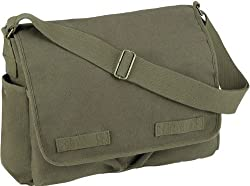 Olive Drab HW Classic Messenger Bag