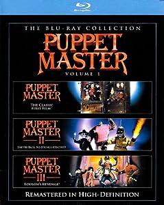 Puppet Master, Vol. 1 (Puppet Master / Puppet Master 2 / Puppet Master 3) [Blu-ray]