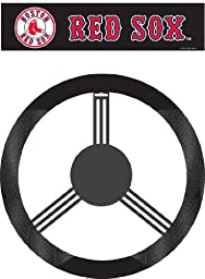 MLB Boston Red Sox Poly-Suede Steering Wheel Cover
