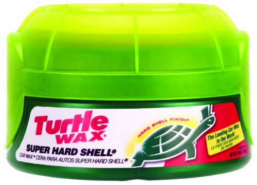 Turtle Wax T-222R Super Hard Shell Paste Wax, 14 ounces