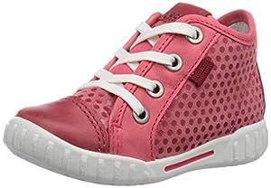 Ecco Mimic - Zapatos primeros pasos de cuero para niña de Ecco