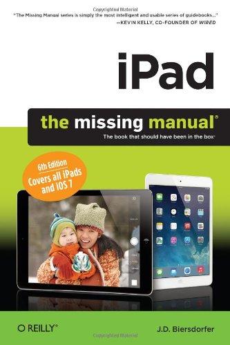 iPad: The Missing Manual by J.D. Biersdorder, O'Reilly, Mr. Media Interviews