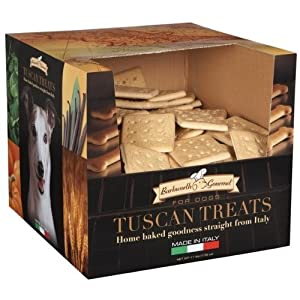 Barkworth Gourmet Tuscan Dog Treats, 11-Pound Box, Grand Biscotto
