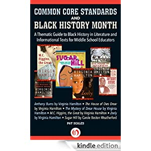 Logo for Common Core Standards and Black History Month: A Thematic Guide to Black History in Literature and Informational Texts for Middle School