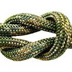Paracord - Guaranteed MilSpec C-5040H Compliant, 8-Strand, Type III, Military Survival 550 Parachute Cord. Made in the U.S. from 100% Nylon. Includes FREE EBook: We Love MilSpec Paracord and So Will You! and Your Own Copy of MIL-C-5040H. By Paracord 550 MilSpec (TM). (Multi-Camo, 110 Ft. Hank)