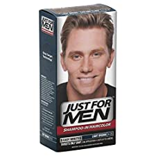 Just For Men Haircolor, Shampoo-In, Light Brown H-25, 1 application