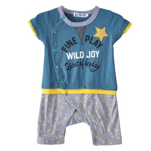 Little Hand Baby Boys' Romper Cute Star Suits Outfits Coverall Sets