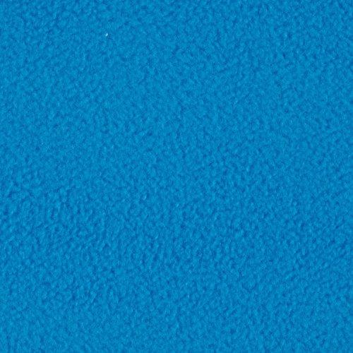 Winterfleece Velour Electric Blue Fabric