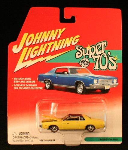 1973 Dodge Charger * Super 70'S * 2002 Johnny Lightning 1/64 Scale Die-Cast Vehicle