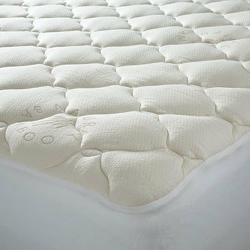 Find Cheap Price Extra Plush Bamboo Top Mattress Pad 91