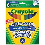 Crayola 8 Washable Broad Line, Original