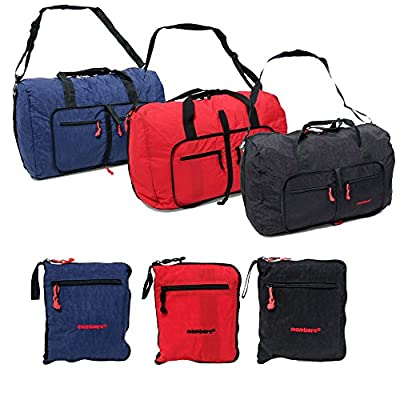 Ultra Lightweight Foldable Cabin Sports Cargo Travel Weekend Holdall Duffle Bag