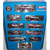 40th Anniversary Hot Wheels Super Chromes Tin With 10 Cars