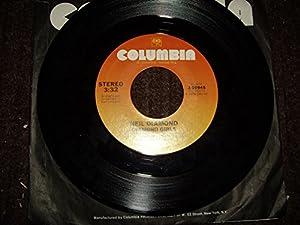 diamond girl / same 45 rpm single