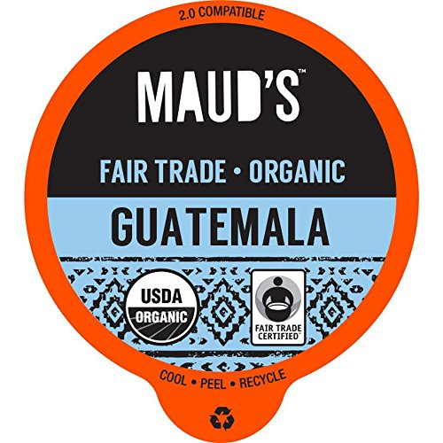 Maud's Gourmet Coffee Pods, Organic Guatemalan Blend, 96 Single Serve Coffee Pods (Best Rated Coffee Beans compare prices)