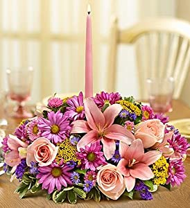 1-800-Flowers - Pastel Centerpiece - Large By 1800Flowers