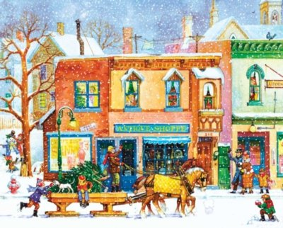 51zC1FpAkfL Cheap Buy  Old Time Holiday 1000 Piece Jigsaw Puzzle