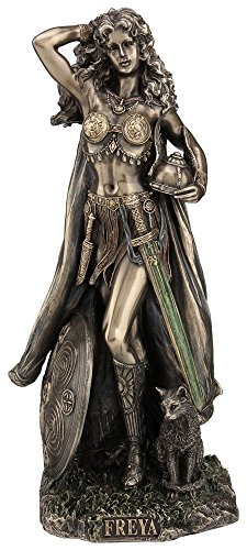 Freya Norse Goddess of Love, Beauty and Fertility Statue