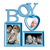 Basement Bazaar Plastic 'Boy' Photo Frame (Blue)