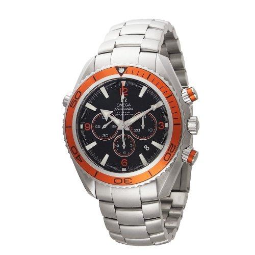 [オメガ]OMEGA 腕時計 プラネットオーシャンクロノ ブラック文字盤 コーアクシャル自動巻 600M防水 2218.50 メンズ 【並行輸入品】