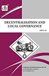 MPA-016 Decentralization And Local Governance