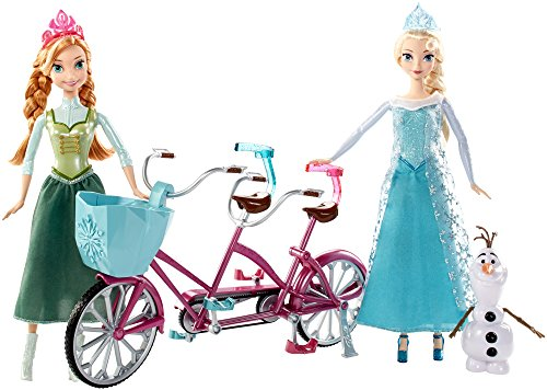 New Disney Frozen Musical Bicycle Playset