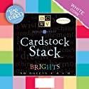 "Textured Brights Cardstock Stack 8""X8""-2 Each Of 29 Colors (58 Sheets/Pad)"
