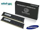 デスクトップ用 DDR3L-1600 16GB(8GBx2枚組)CL11 1.35Volt Samsung SMD-16G28SP-16KL-D-BK