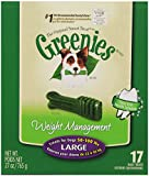 Greenies 10075567 Lite Tub-Pak Treat for Dogs, 27-Ounce, Large