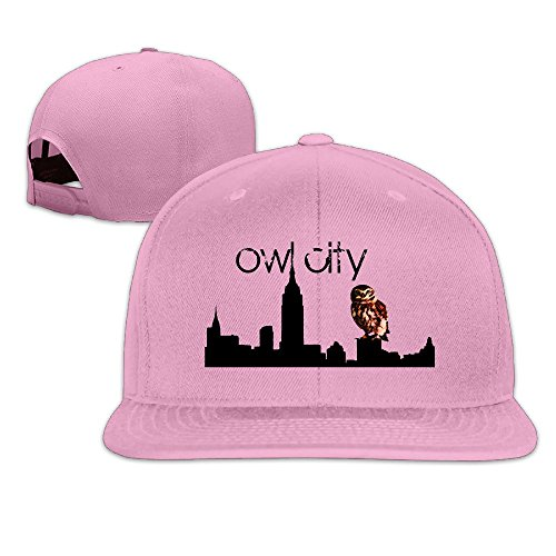 thna-owl-city-logo-baseball-regolabile-fashion-pink-taglia-unica