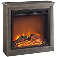 Altra Bruxton 22.8 in. Electric Fireplac...