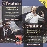 Shostakovich: Sym No 5 / Miaskovsky: Sym No 15
