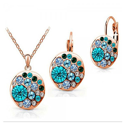 luck-wang-womens-unique-fashion-round-diamond-crystal-earrings-necklace-set
