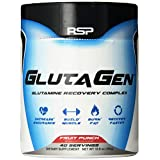 RSP Nutrition Glutagen Supplement, Fruit Punch, 300 Gram