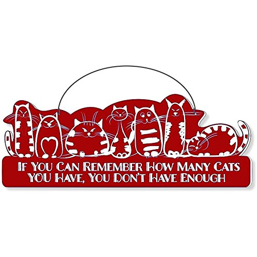 Cool Cats Cat-Gang Shaped Laser-Etched 3-In-1 Plaques Ver1 Not Enough Red