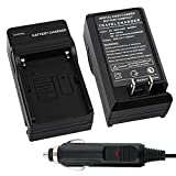 IVY - Camera Battery Charger Fit For Canon NB-10L NB10L CB-2LC Canon Powershot SX40HS G1X