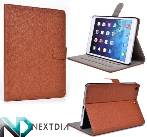 Click to buy Apple iPad Air with WiFi A1474 16GB- Case and Stand (Cinnamon Brown) - From only $9.98