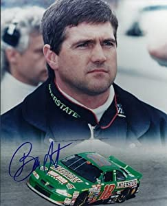 Bobby Labonte Autographed Hand Signed 8x10 Photo by Real Deal Memorabilia