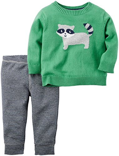 carters-baby-boys-2-pc-sets-green-12-months