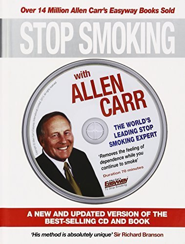 Stop Smoking with Allen Carr: A New and Updated Version of the Best-Selling CD and Book by Carr, Allen (2012) Hardcover