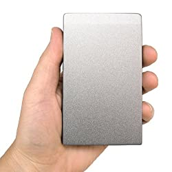 U32 Shadow™ 120GB External 2.5-in USB 3.0 Portable Solid State Hard Drive SSD (Silver, Mac Version)