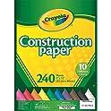 Crayola 240 Sheets Construction Paper